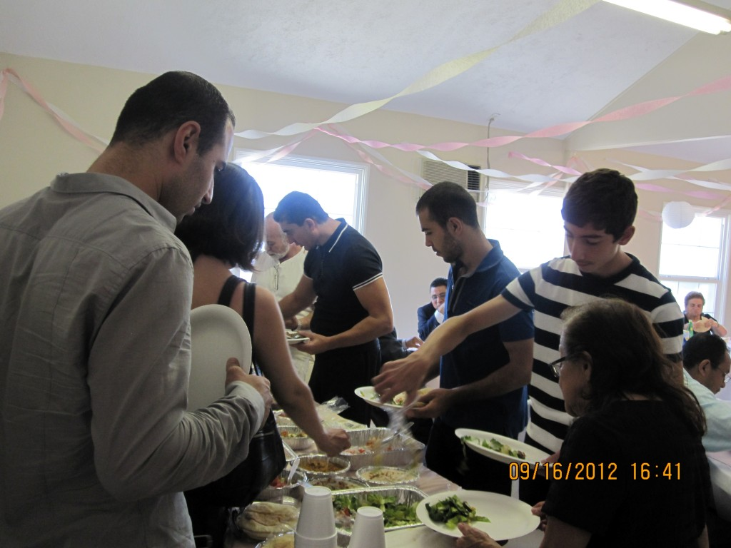 Treating Our Guests to Some Yummy Armenian Food!