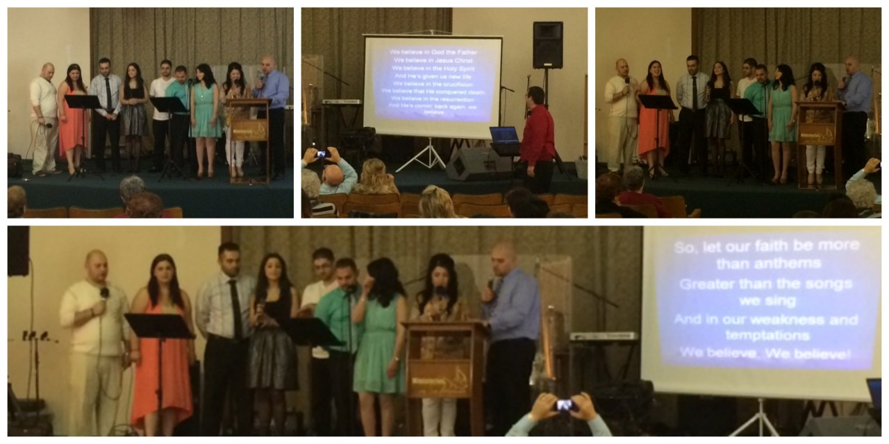 "Youth Group performs ""We Believe"" by Newsboys"